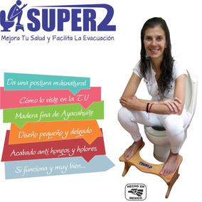Banquito Super2 En Madera No Plastico Isipup