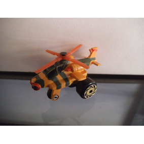 Helicoptero Apache Tipo Micro Machines Road Champs Vintage A
