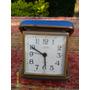 Antiguo Reloj Despertador De Viaje Europa Germany Funciona