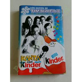 Timbiriche Cassette Edición Especial Kinder Sorpresa C/ Env