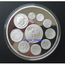Medalla Cono Monetario 2 0z Plata 1993 Calendario Nuevo Cm
