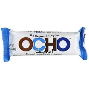 Ocho Caramelo De La Barra De Caramelo De Coco Orgánico 1.4 O