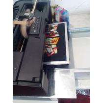 Impresora De Playeras Dtg L1800 Cama Plana Tinta Blanca