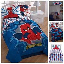 Marvel Ultimate Spiderman Juego De Cama Con Edredón Reversi