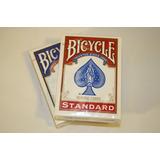 Set De 5 Barajas Cartas Poker Bicycle Standard - Originales