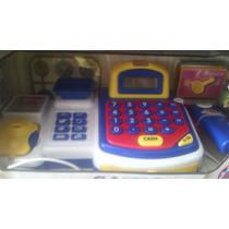 Caixa Registradora Infantil Com Luz E Som Dm Toys