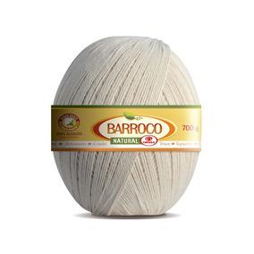 Barbante Barroco Natural - Nº4 - Kit 6 Un-12x - Frete Gratis