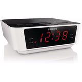 Radio Reloj Digital Philips Aj3115 Fm Alarma Dual Energia-ba