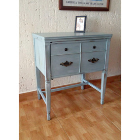 hermoso mueble restaurado estilo vintage shabby chic