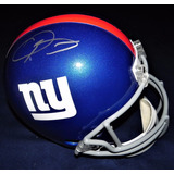 Casco Autografiado Odell Beckham New York Giants Nfl Riddell