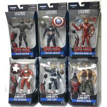 Marvel Legends Civil War Baf Giant Man Set Completo 6 Hasbro