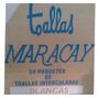 Toallas Intercaladas Blancas Maracay 24 X 180 Paquete