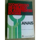 Livro - 1° Congresso Brasileiro De Assistentes Sociais