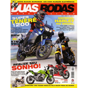 Duas Rodas N°426 Mar/2011 Ténéré 1200 Harley Fat Boy Ktm 990