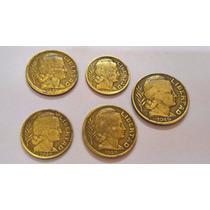 Monedas República Argentina - 5 A 20 Centavos - Año 1945/49
