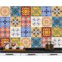 Adesivo De Azulejo Hidráulico Antigo Pastilha Ladrilho 20x20