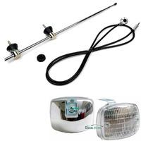 Antena Kombi Igual A Truffi Fusca Importada + Lanterna Adap