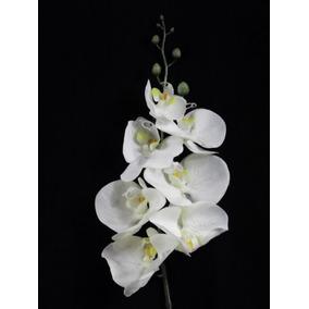 1 Orquidea Artificial Silicone Toque Real Flores Artificiais