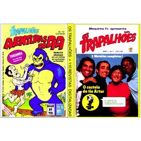 2 Dvd - Os Trapalhões + 155 Revistas Digitalizada (antigas)