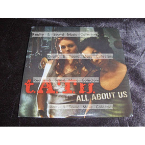 Tatu All About Us Cd 5 Tracks Remixes De Coleccion!!