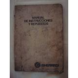 Manual Sembradora Guerardi G-25 Instrucciones Y Repuestos