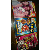 Juego De Cartas De Uno Monster High/violetta/cars Y Angry B