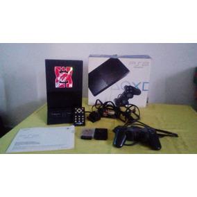 Playstation 2 Con Volante , Multitag ,1 Joystick Y 7 Juegos