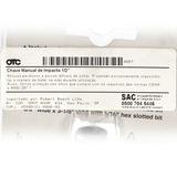 Chave De Impacto Manual 1/2 - Otc - Bosch 4607