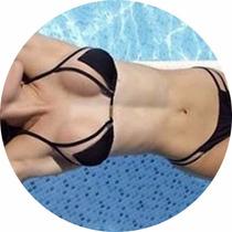 Biquinis Bikinis Panicat Tule Detalhe Bojo Lindo Verão 2017