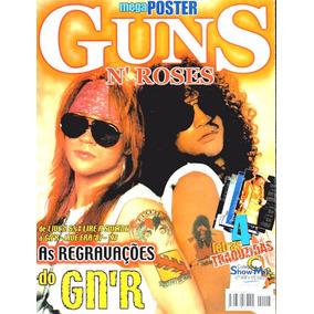Revista Pôster Guns N Roses = Poster Axl Rose Slash Gigante