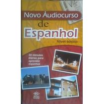 Livro Novo Áudiocurso De Espanhol Nível Básico
