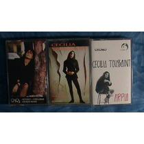 3 Cassettes De Cecilia Toussaint X $300