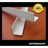Esquineros Carton Prensado Blanco De 1.40 Mt Pack X 25