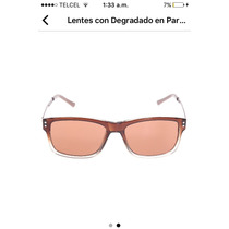 Perry Ellis Lentes Unisex Color Café Claro