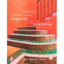Estadistica Aplicada A Los Negocios Y La Economia Digital