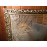Espejo Con Marco Dorado Labrado