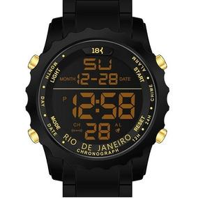 Relógio 18k Watches Rio De Janeiro Novo!!! Frete Gratis