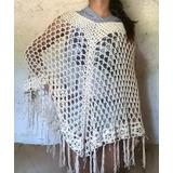 Poncho De Verano En Crochet + Envio!