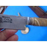 Faca Forjada Com Mosca Tandil El Chaja Argentina-