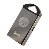 Memoria Usb Hp 8gb Mini Llavero Metalico Nuevo Sellado