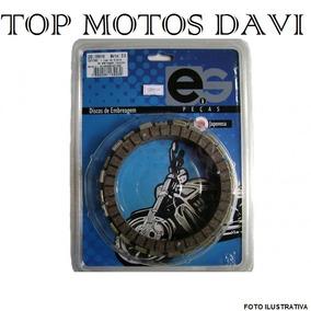 Jogo Discos De Embreagem Moto Suzuki Rm 125