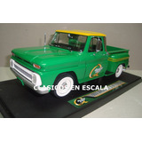 Chevrolet C-10 Stepside 1965 Pick Up - V Greenlight 1/18