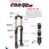 Garfo Suspensão 26 Over Aheat Set Spinner Carga 150mm 003124