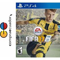 Fifa 17 Ps4 Ea Sports Playstation 4 Juego Físico Original