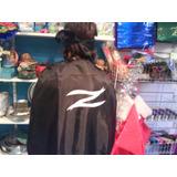 Disfraz Capa Negra De El Zorro + Antifaz Talle Adulto
