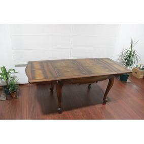 Mesa Antigua Estilo Provenzal Vasco Extensible Muebles
