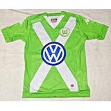Camiseta De Juego Wolfsburgo 2015 Kappa