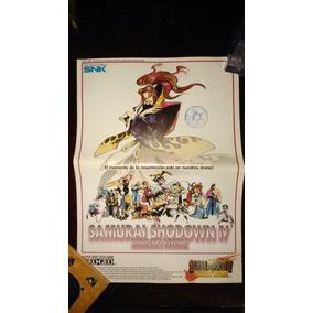 Samurai Shadow Iv Flyer Neogeo Envio Gratis