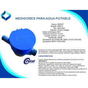 Medidor Para Agua Potable