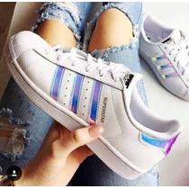 Adidas Superstar Holographic 100% Originales 36 37 38 Stock